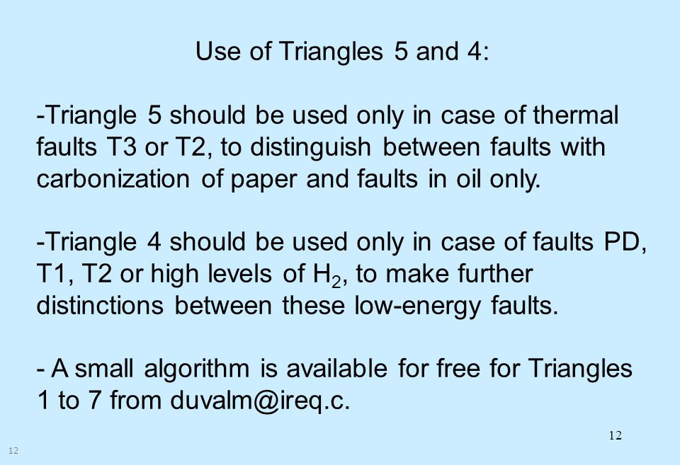 Corporate Overview Use of Triangles 5 and 4: