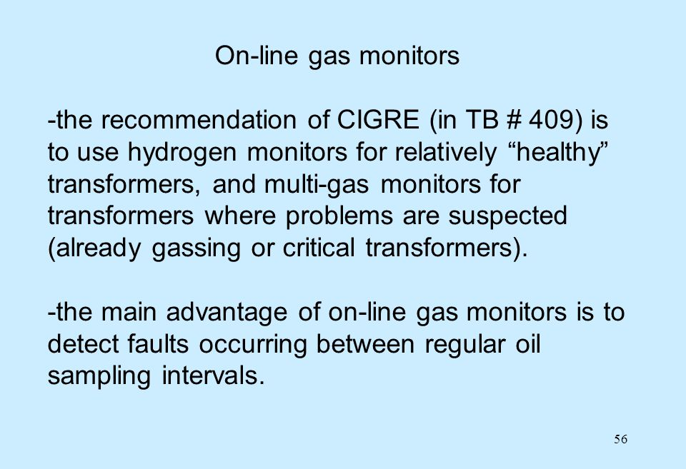 On-line gas monitors
