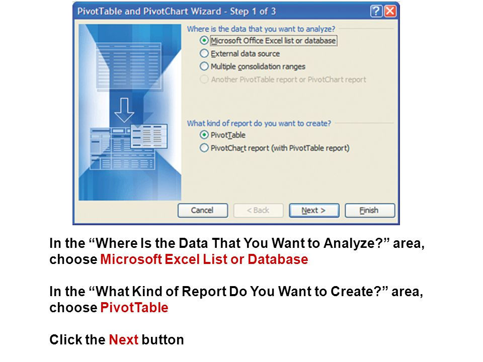 In the Where Is the Data That You Want to Analyze