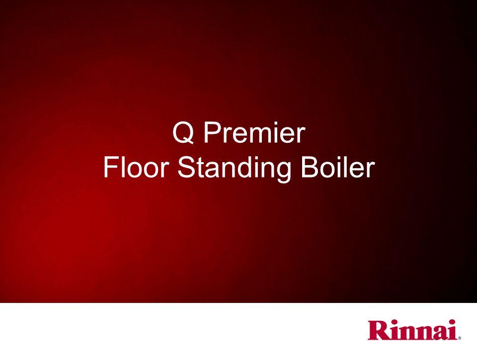 Q Premier Floor Standing Boiler