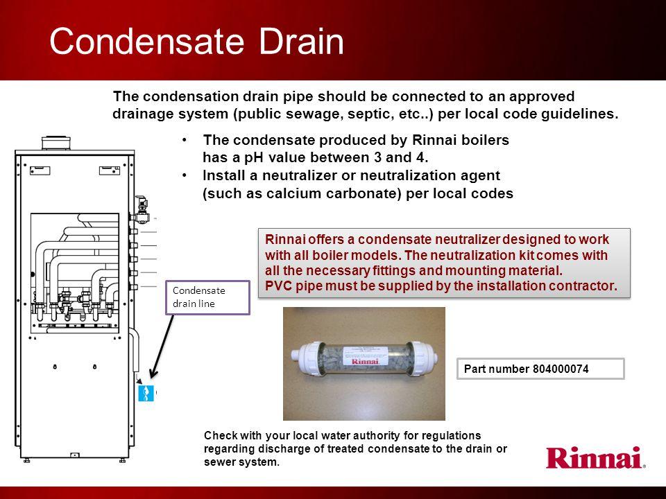 Condensate Drain