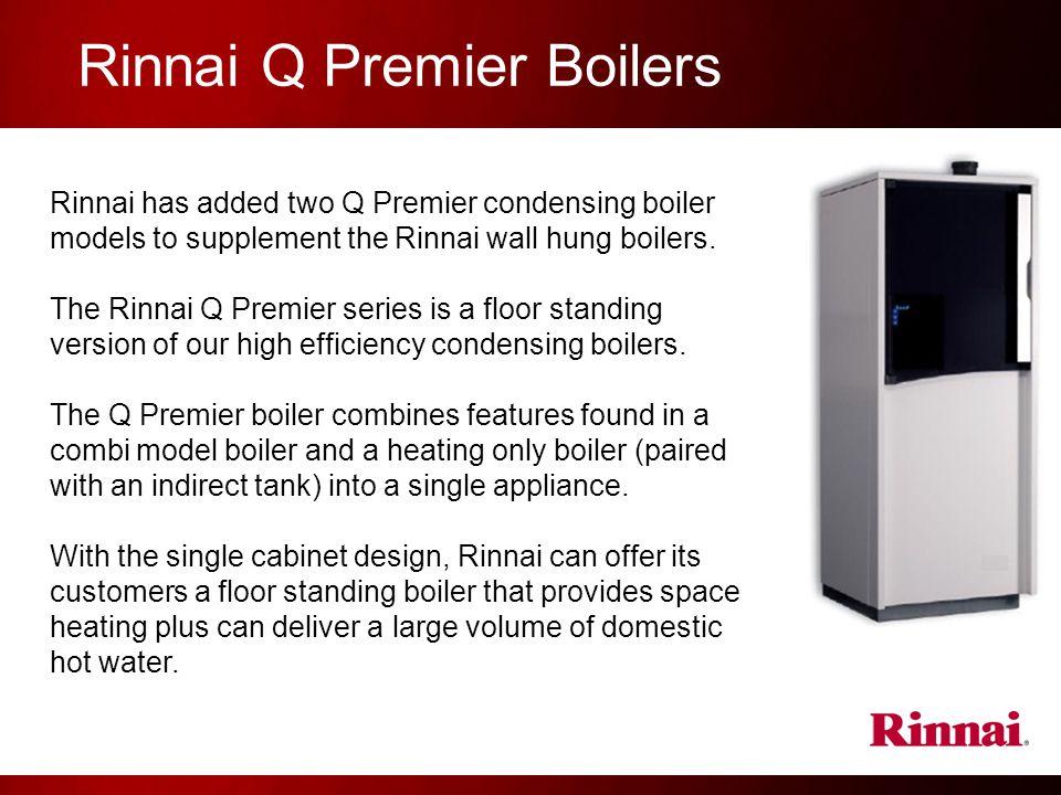 Rinnai Q Premier Boilers