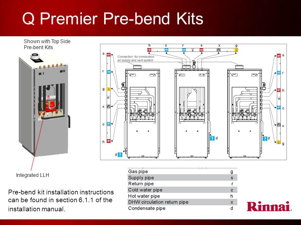 Q Premier Pre-bend Kits