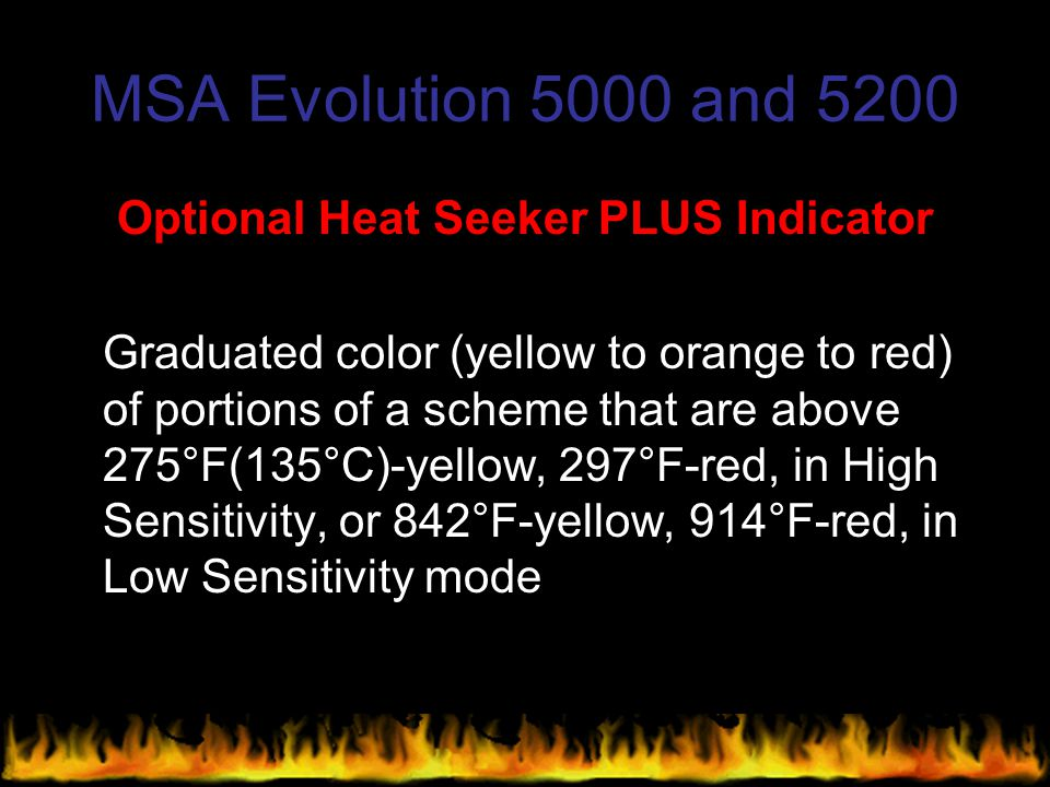 Optional Heat Seeker PLUS Indicator