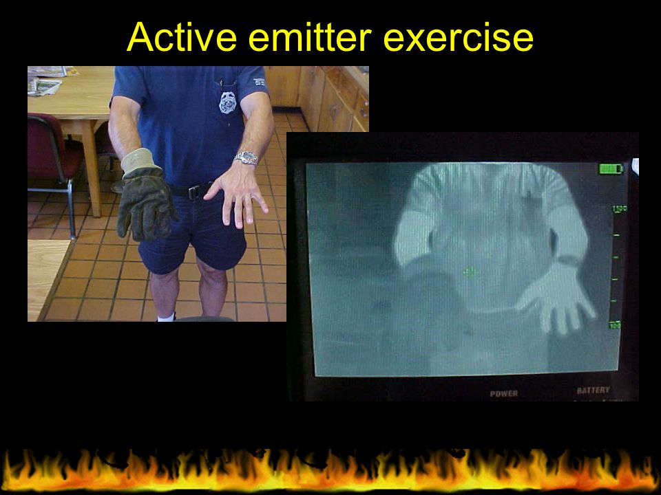 Active emitter exercise