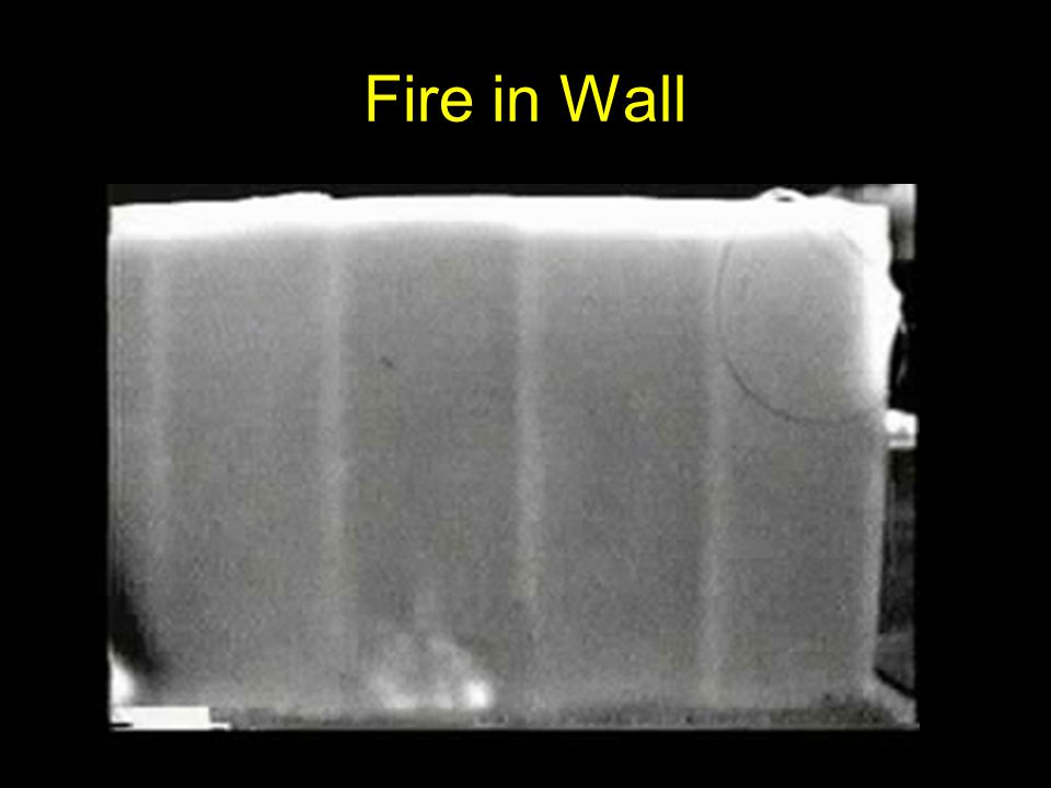Fire in Wall