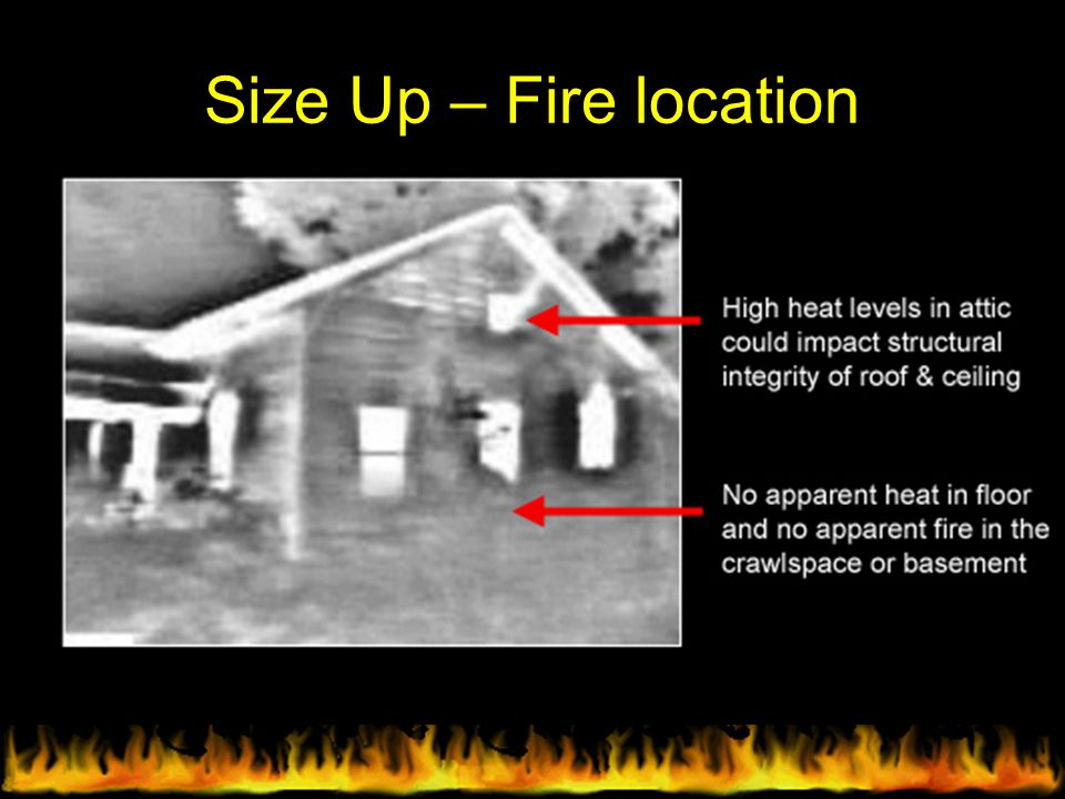 Size Up – Fire location