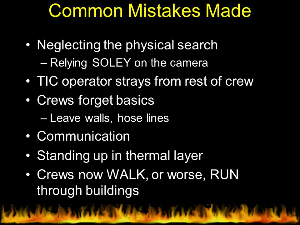 Common Mistakes Made Neglecting the physical search