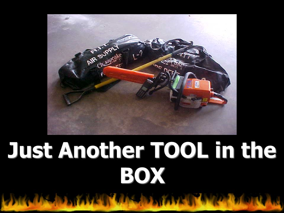 Just Another TOOL in the BOX