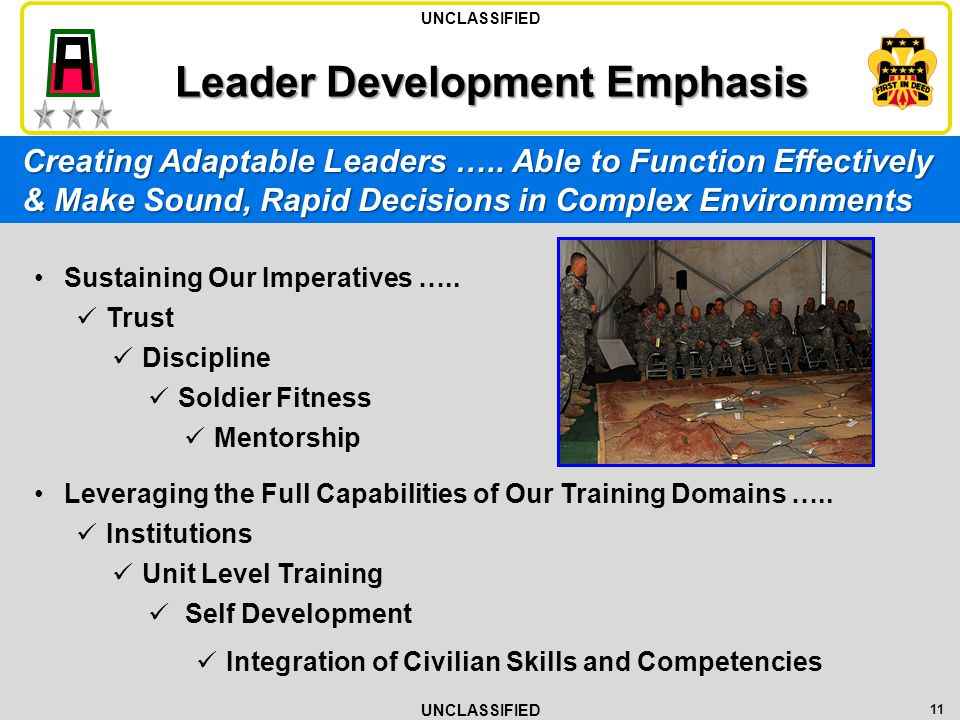 Leader Development Emphasis