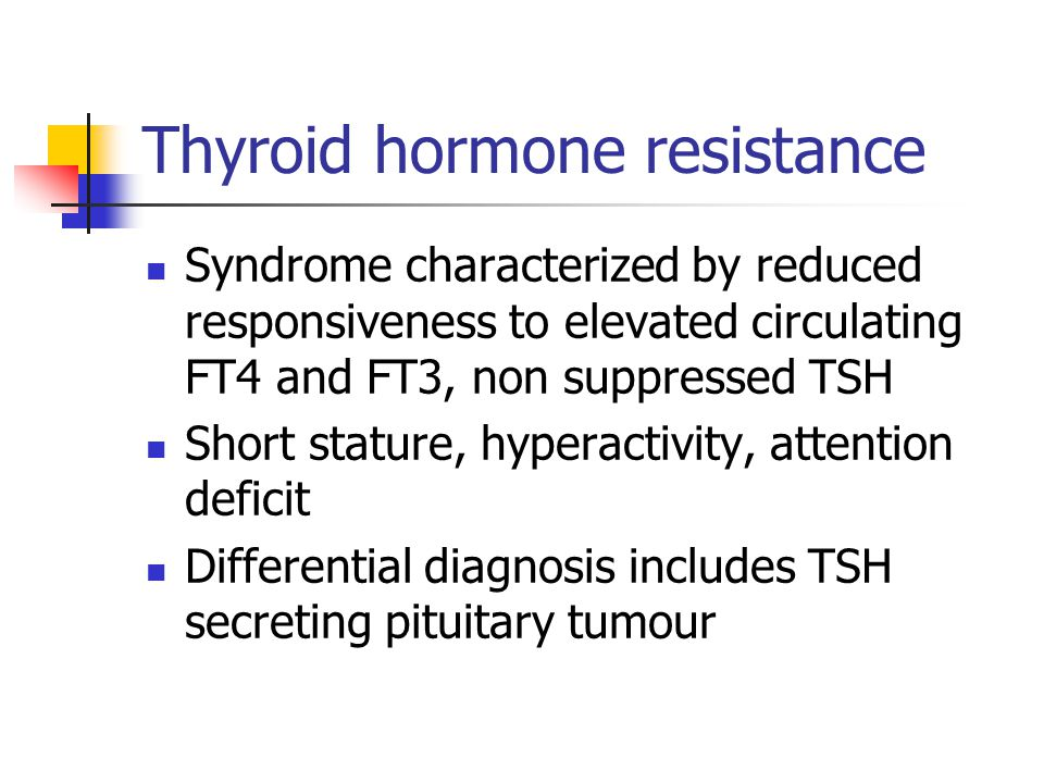 Thyroid hormone resistance
