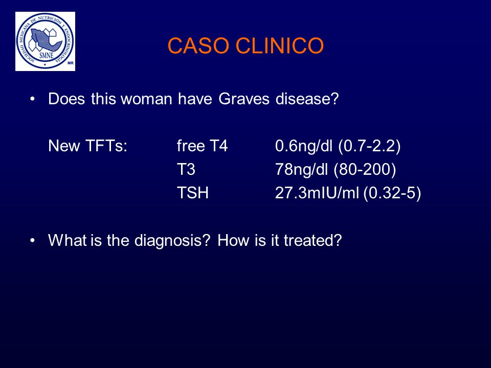 CASO CLINICO Does this woman have Graves disease