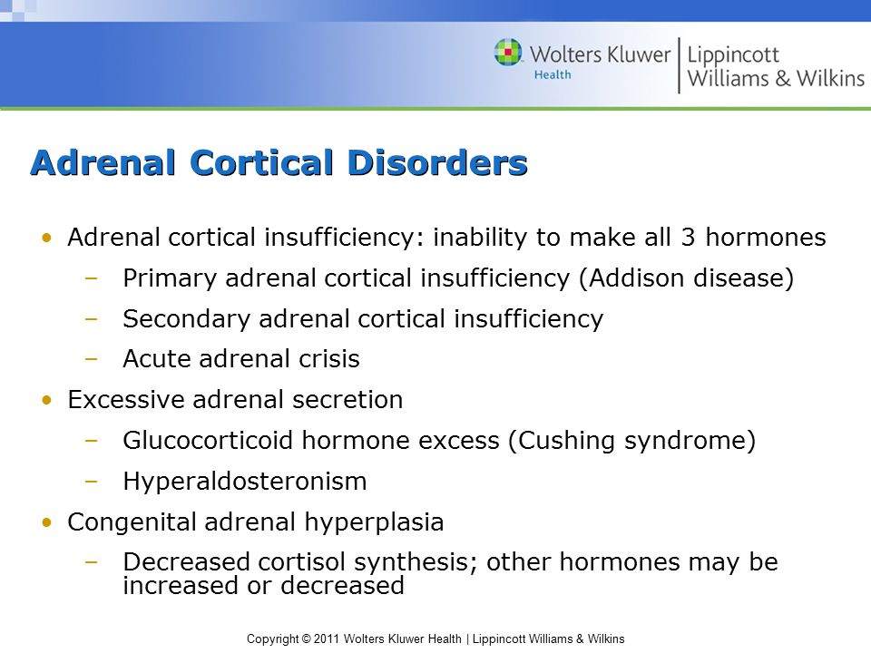 Adrenal Cortical Disorders