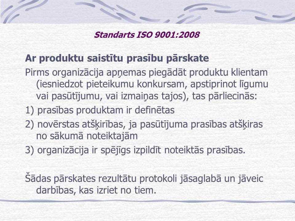 Ar produktu saistītu prasību pārskate