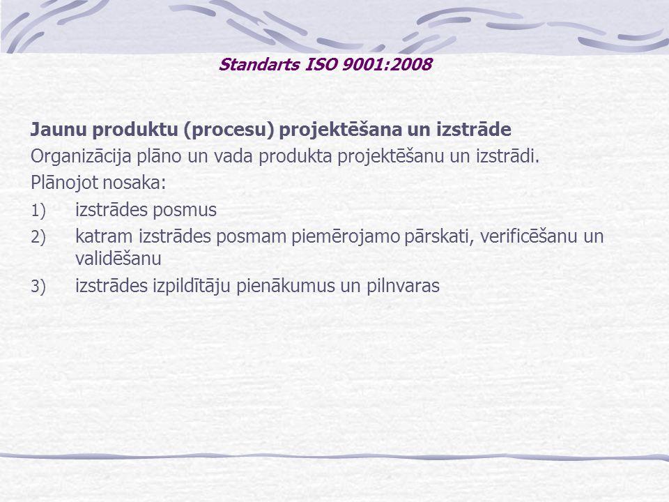 Jaunu produktu (procesu) projektēšana un izstrāde