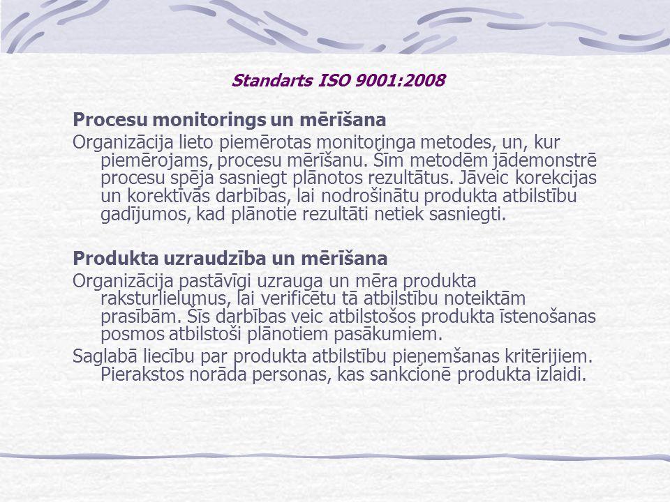 Procesu monitorings un mērīšana