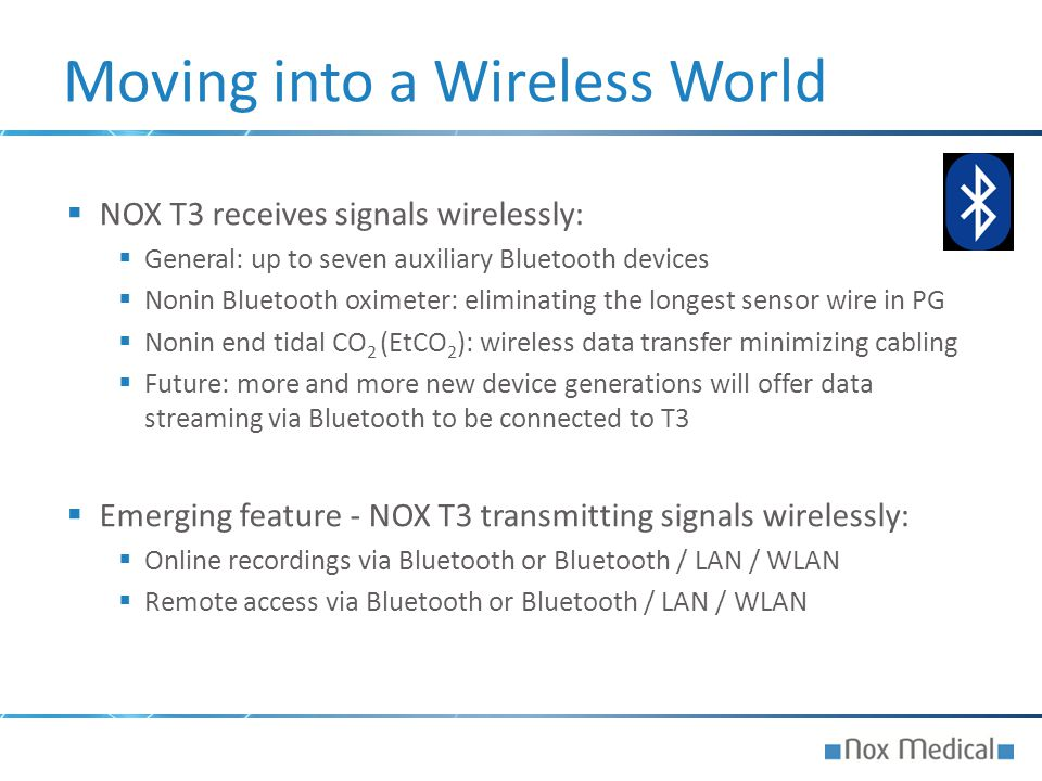 Moving into a Wireless World