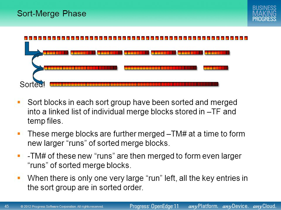 Sort-Merge Phase