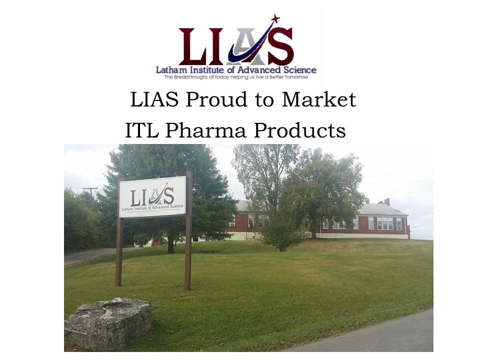LIAS Proud to Market ITL Pharma Products