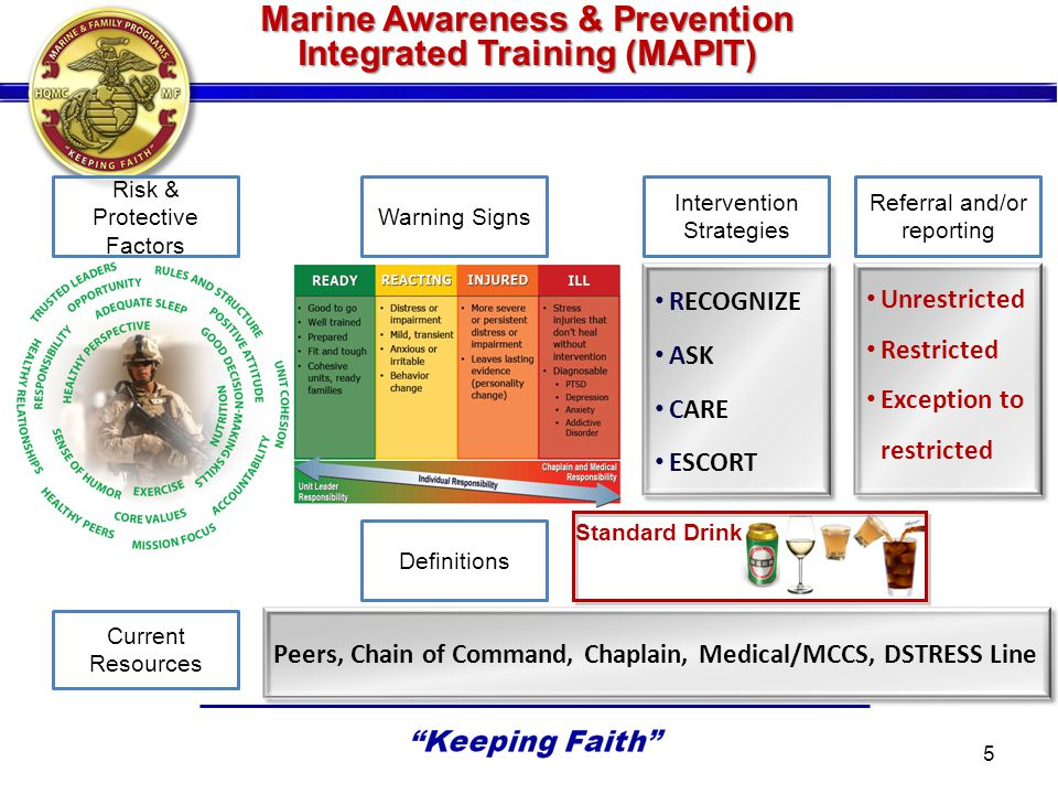 Marine Awareness & Prevention Integrated Training (MAPIT)