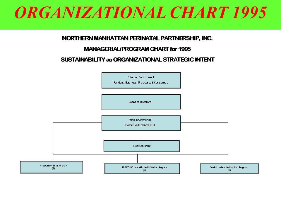 ORGANIZATIONAL CHART 1995
