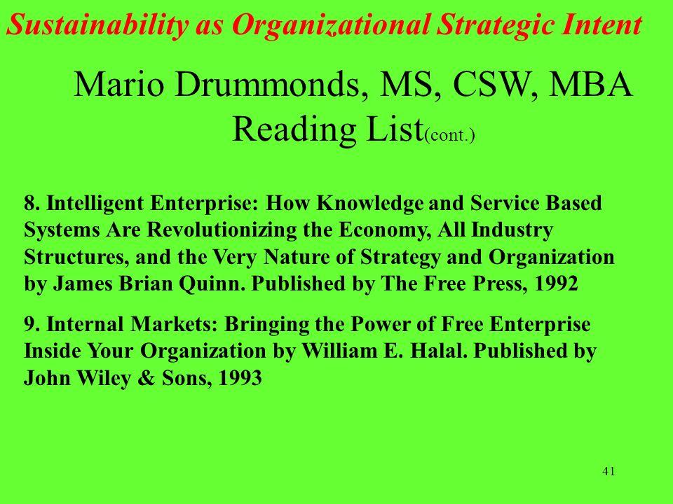 Mario Drummonds, MS, CSW, MBA