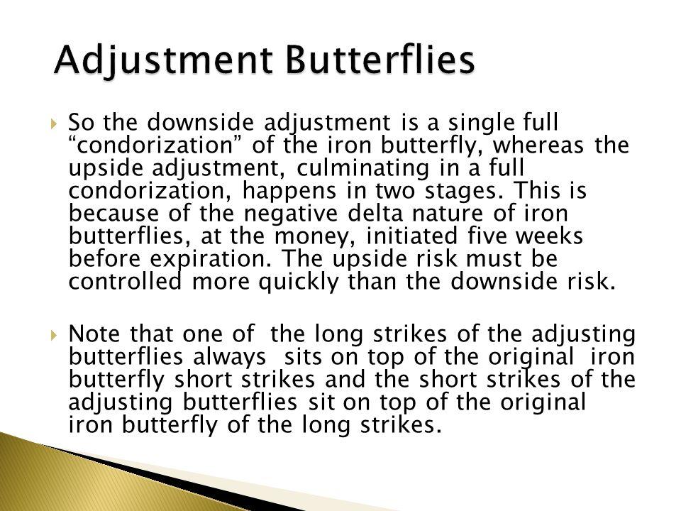 Adjustment Butterflies
