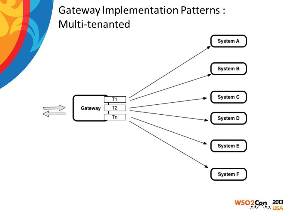 Gateway Implementation Patterns : Multi-tenanted