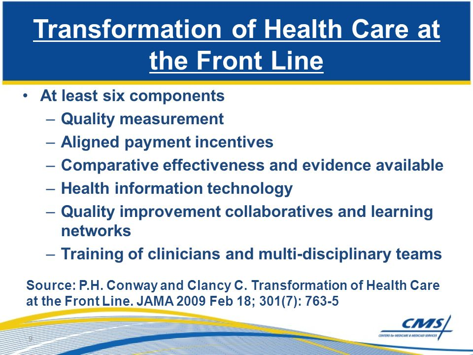 Transformation of Health Care at the Front Line