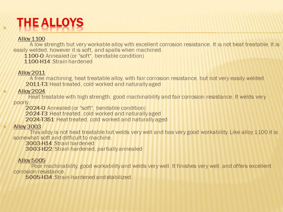 The Alloys