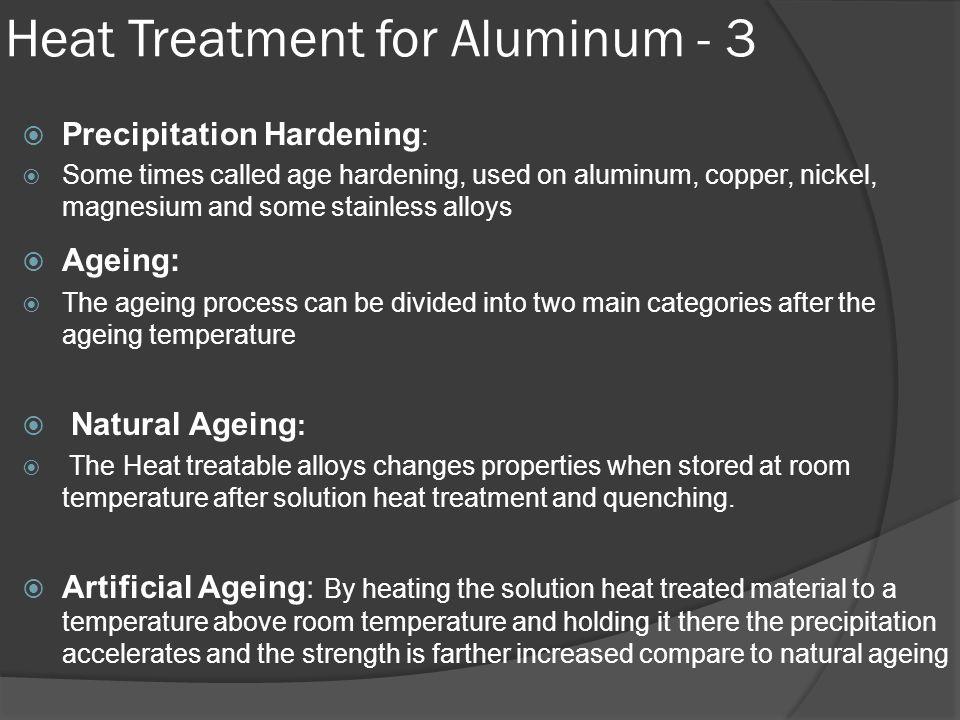 Heat Treatment for Aluminum - 3