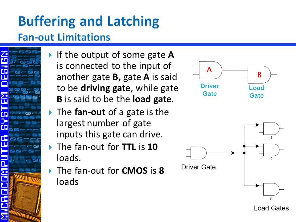 Buffering and Latching Fan-out Limitations