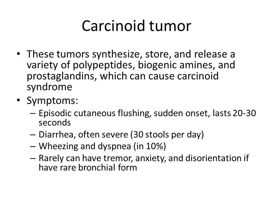 Carcinoid tumor