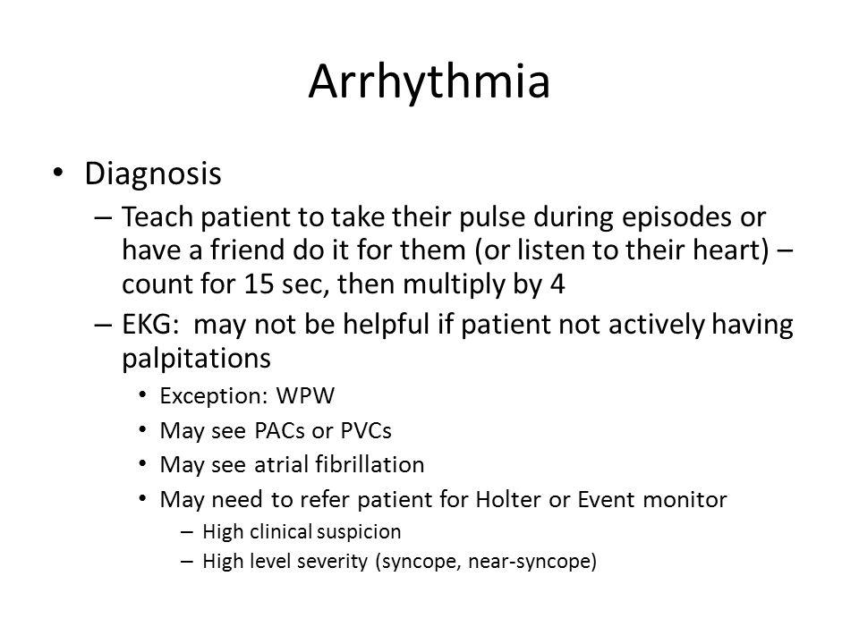 Arrhythmia Diagnosis.