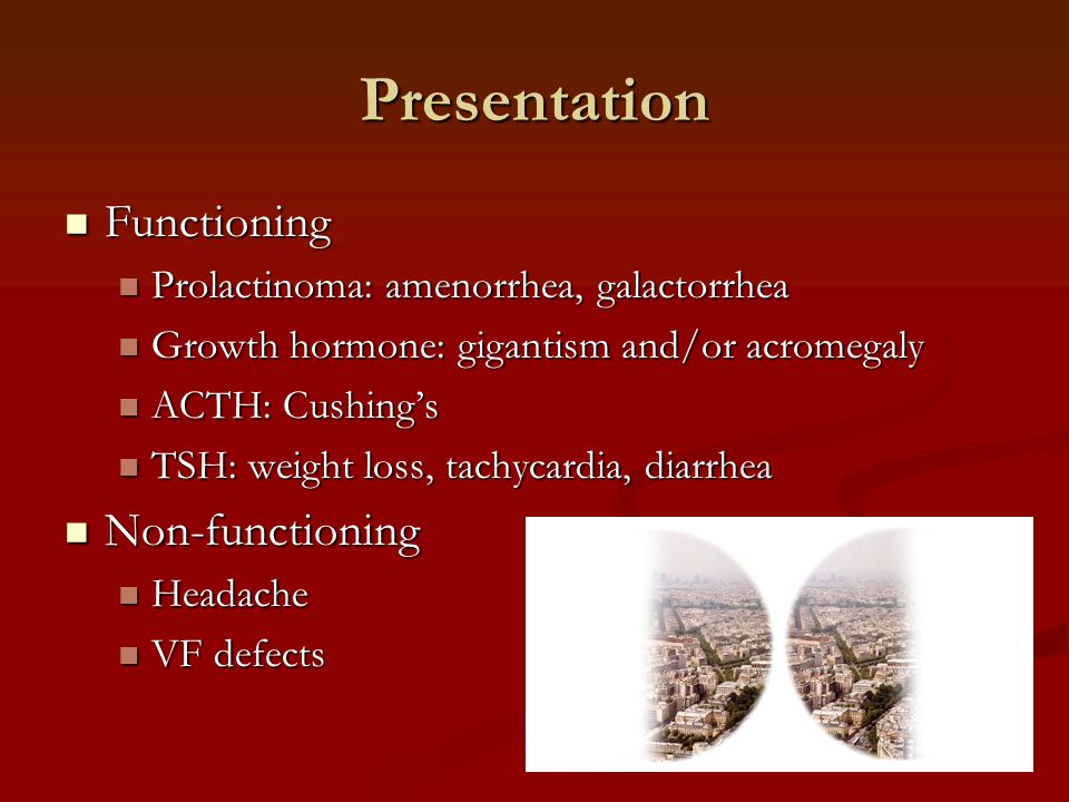 Presentation Functioning Non-functioning
