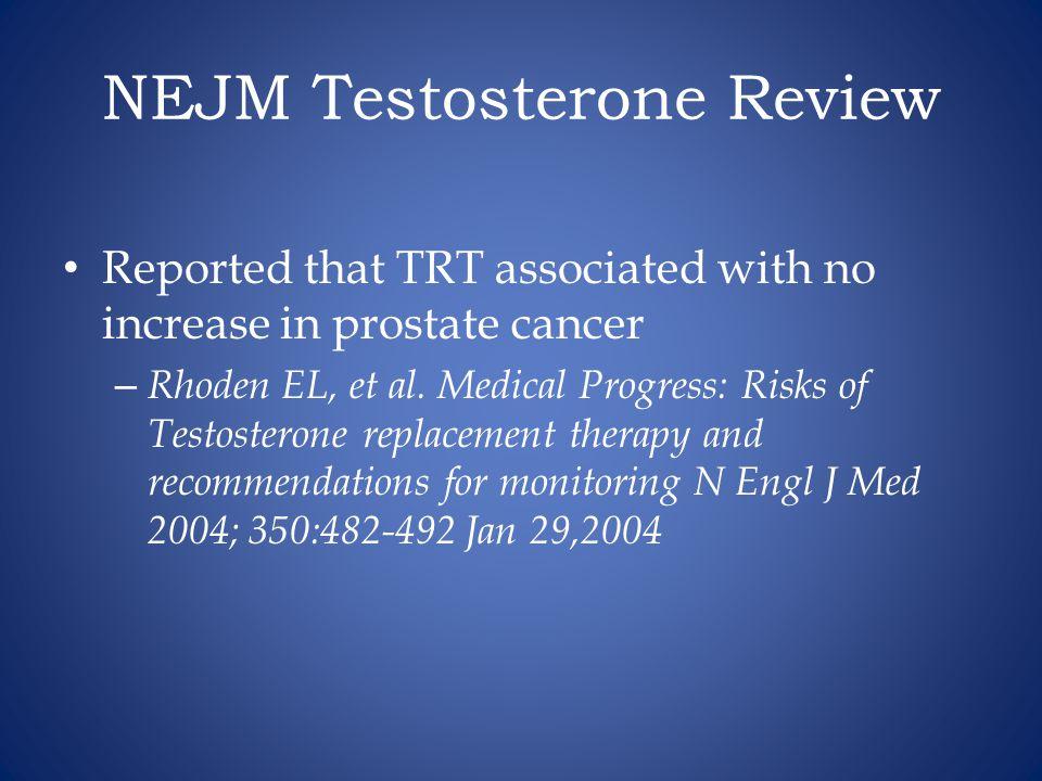 NEJM Testosterone Review