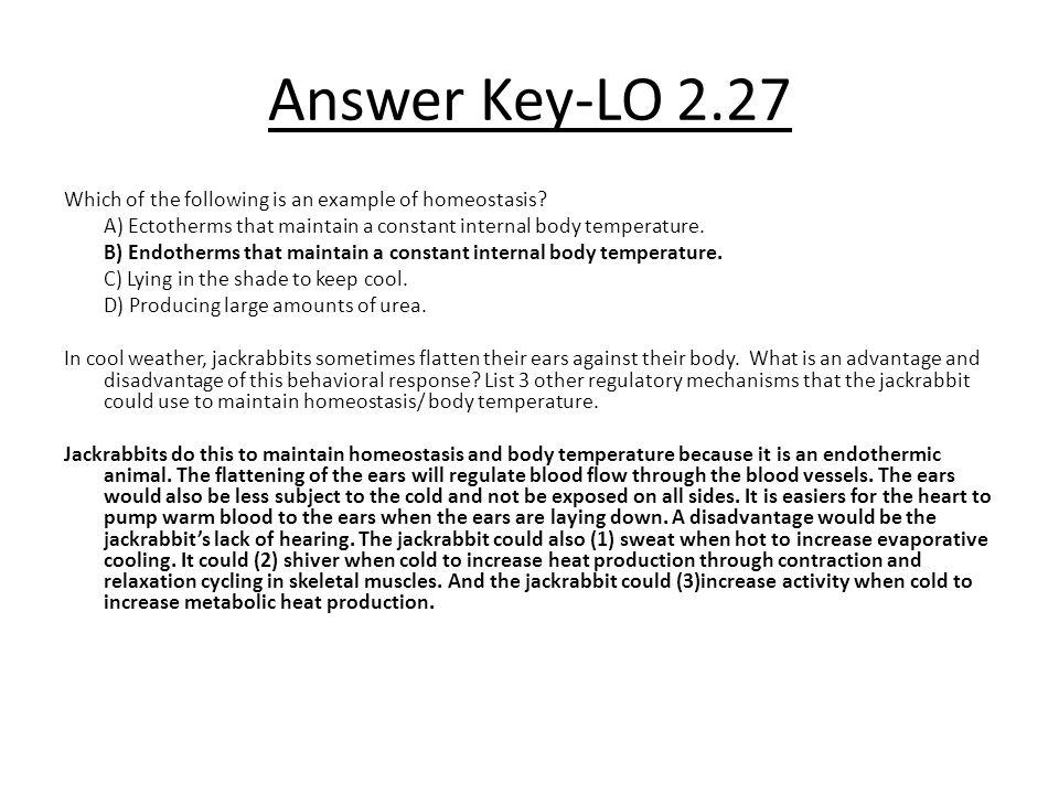 Answer Key-LO 2.27
