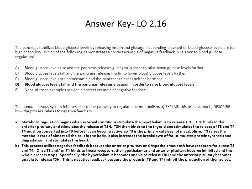 Answer Key- LO 2.16