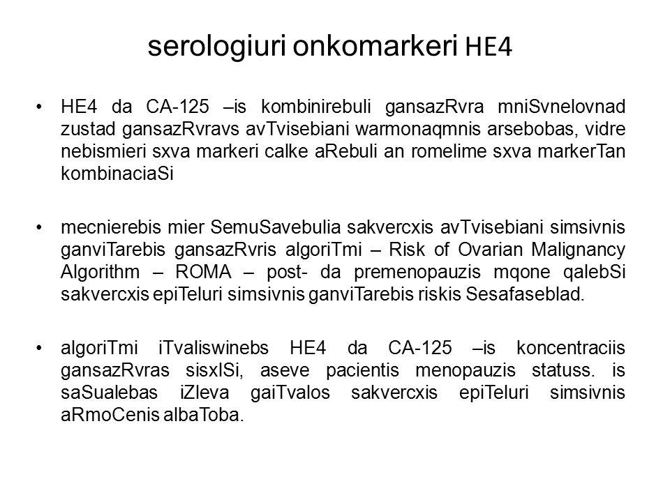 serologiuri onkomarkeri HE4