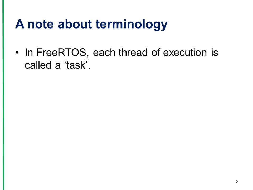 A note about terminology