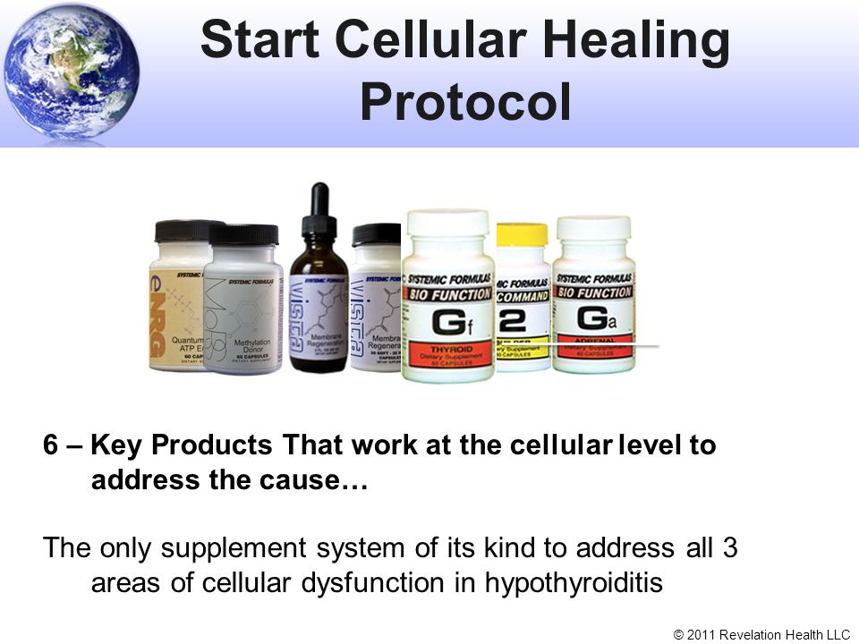 Start Cellular Healing Protocol