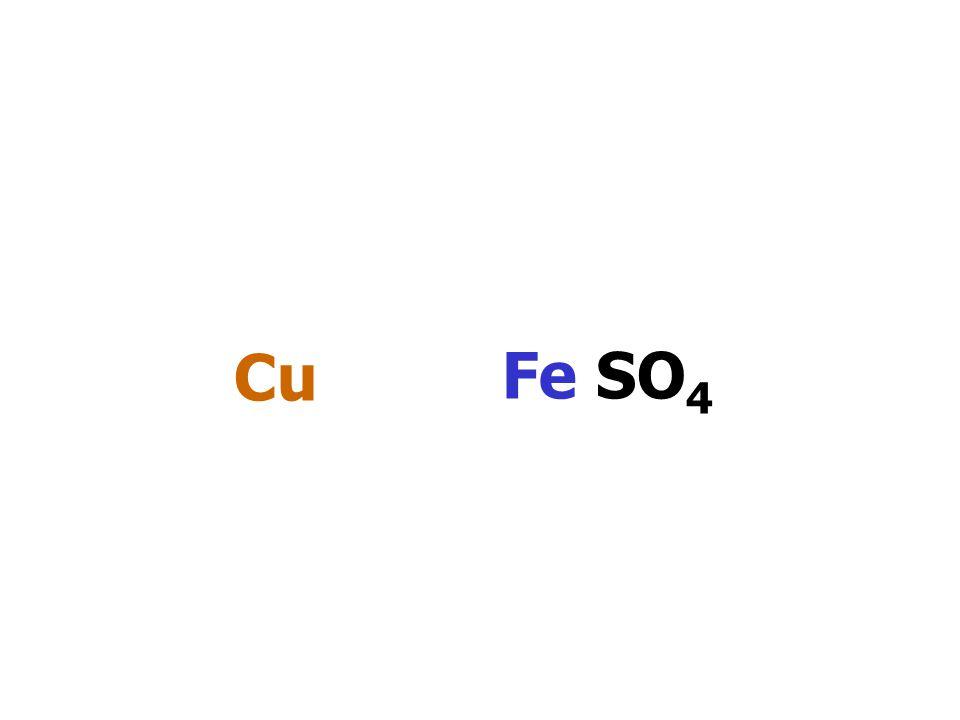 Cu Fe SO4