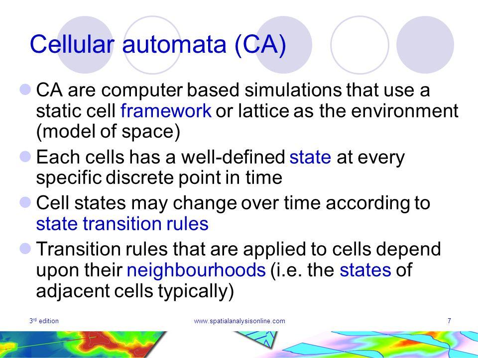Cellular automata (CA)