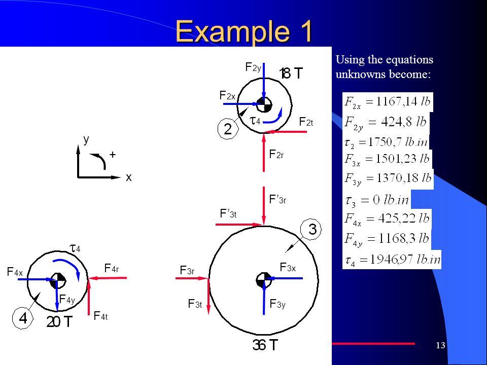 Example 1 t4 F'3t F'3r F3x F3y F3t F3r F4t F4r F2r F2t F2x F2y F4x F4y