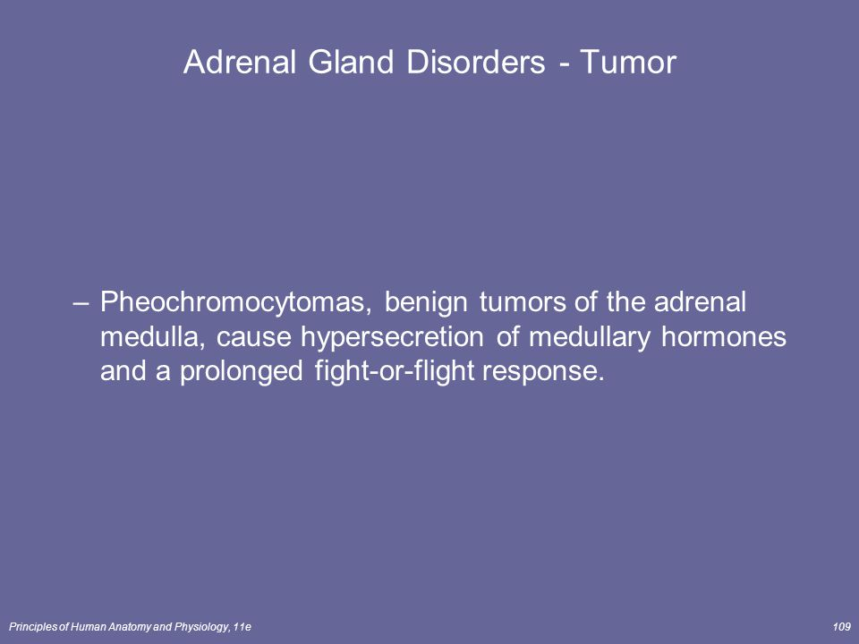 Adrenal Gland Disorders - Tumor