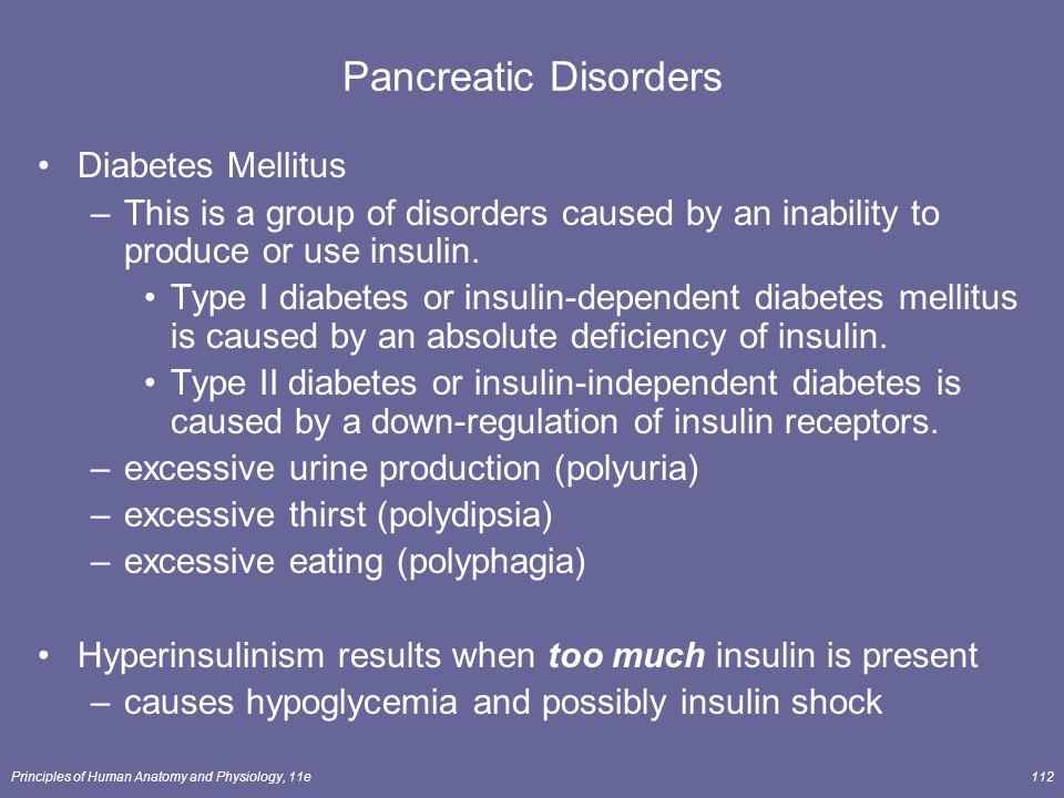 Pancreatic Disorders Diabetes Mellitus