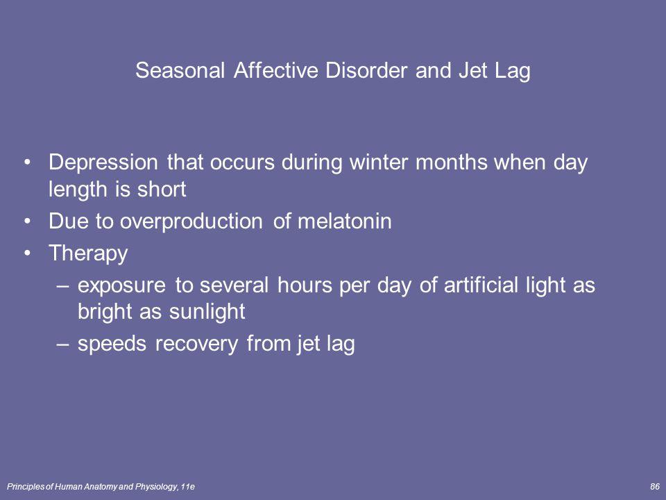 Seasonal Affective Disorder and Jet Lag