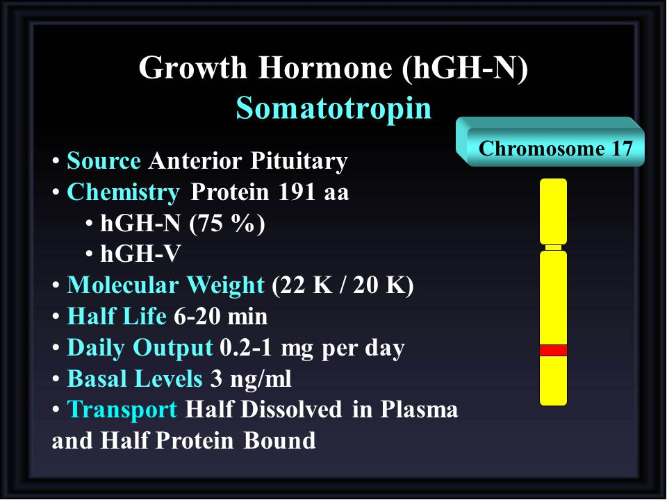 Growth Hormone (hGH-N) Somatotropin