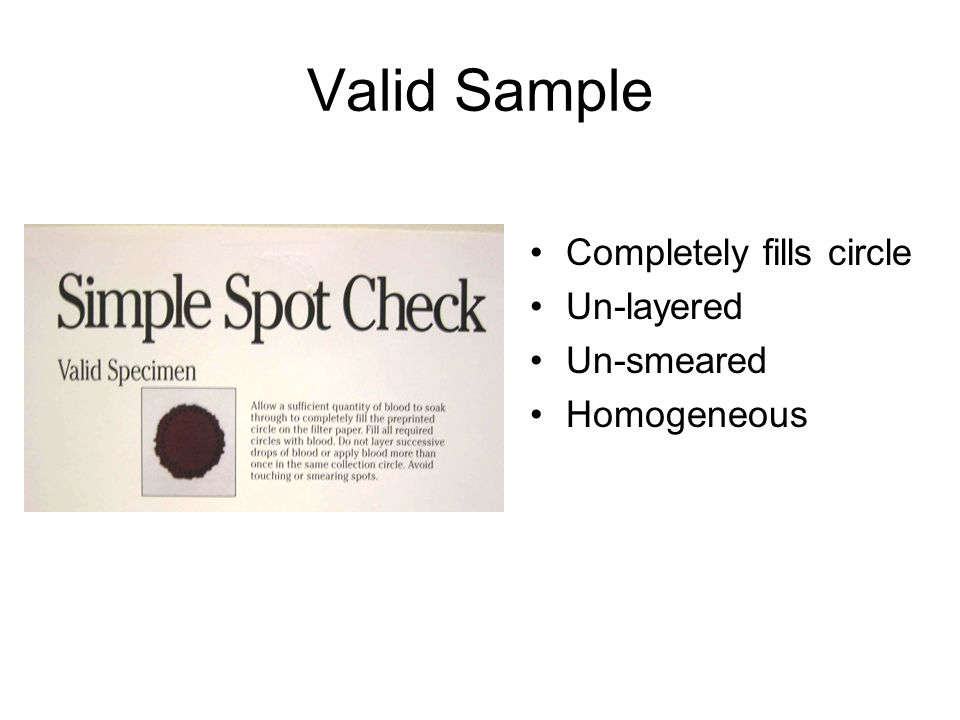 Valid Sample Completely fills circle Un-layered Un-smeared Homogeneous