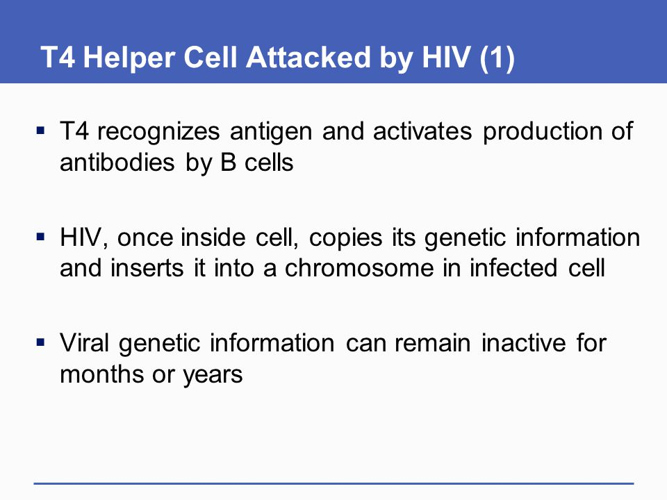 T4 Helper Cell Attacked by HIV (1)